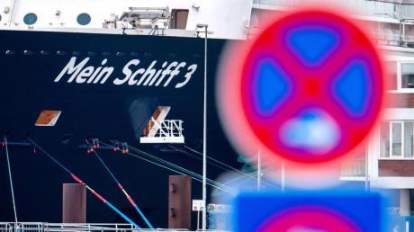 Das Kreuzfahrtschiff «Mein Schiff 3» der Reederei TUI Cruises.