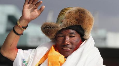 Kami Rita, Sherpa aus Nepal, ist in diesem Frühling arbeitslos.