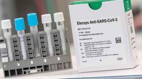 Drei Millionen dieser Tests will Roche noch im Mai zur Verfügung stellen.