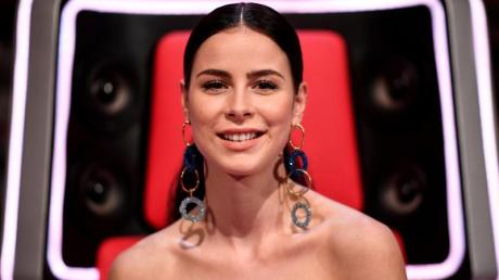 Lena Meyer-Landrut am Rande der Sendung «The Voice Kids» - 8. Staffel.
