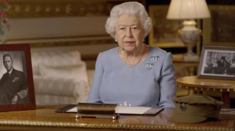 Die britische Königin Elizabeth II. lebt dieser Tage isoliert auf Schloss Windsor.