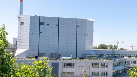 Der Forschungsreaktor FRM II in Garching bei München.