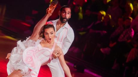 Lili Paul-Roncalli und Massimo Sinató sind das Siegerpaar bei «Let's Dance».