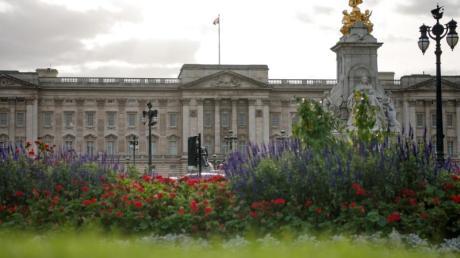 Blick auf den Buckingham Palast.