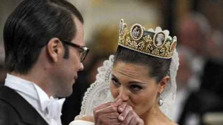Auf Schwedisch sagt man «Ja» - Victoria heiratet Daniel.