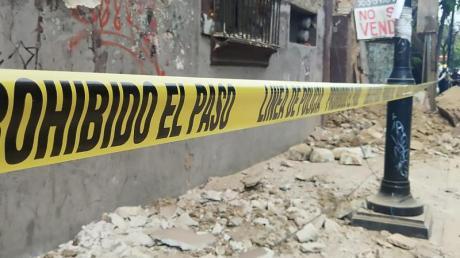 Das Erdbeben der Stärke 7,5 hat schwere Schäden angerichtet.