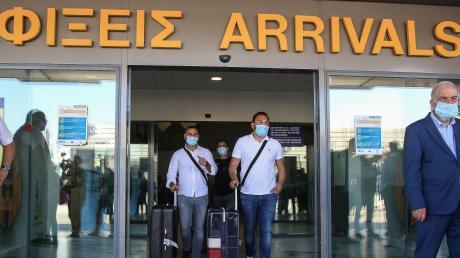 An den griechischen Flughäfen (hier auf Kreta) wird vereinzelt auf das Coronavirus getestet.