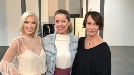 """""""Promi Shopping Queen"""": Vorschau und Kandidatinnen. Von links: Oksana Kolenitchenko, Miriam Lange, Anouschka Renzi."""