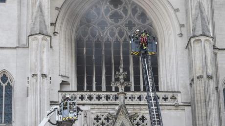Bei dem Kathedralen-Brand in Nantes wurde unter anderem die Hauptorgel zerstört.