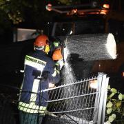 In Bonn zählte die Feuerwehr mehrere Hundert Einsätze.