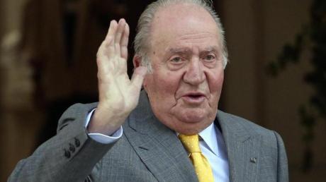 Juan Carlos, ehemaliger König von Spanien, 2018 in Chile.