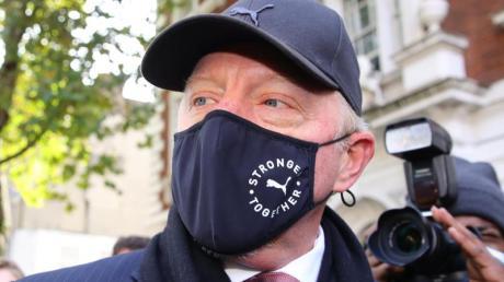 Boris Becker bei einem Gerichtstermoin im September 202 in London.