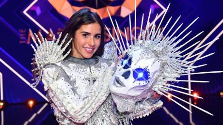 Schaurig schöner Sieg: Sarah Lombardi gewinnt die ProSieben-Show «The Masked Singer».
