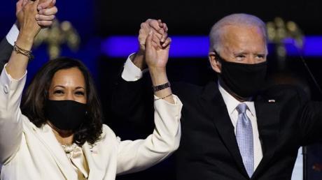 Die US-Politiker Joe Biden und Kamala Harris sind vom «Time Magazine» zu den Personen des Jahres gekürt worden.