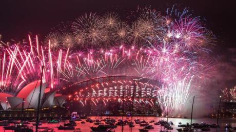 Zuschauer waren am Hafen von Sydney nicht erlaubt.