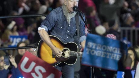 Bruce Springsteen begleitet die Amtseinführung von US-Präsident J. Biden musikalisch.
