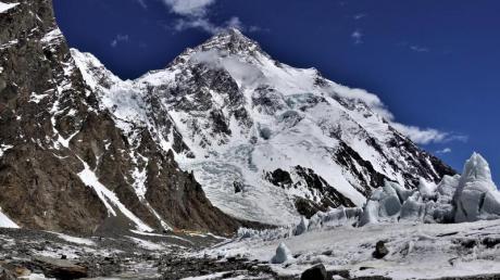 Der 8611 Meter hohe K2 in Pakistan ist der zweithöchste Berg der Welt und gilt als extrem schwierig.