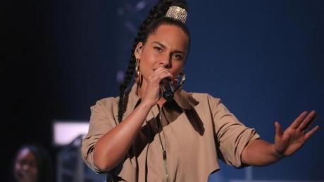 Sängerin Alicia Keys kämpft gegen den Rassismus in den USA.