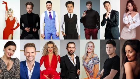 """""""Let's Dance"""" 2021: Hier stellen wir Ihnen die Profitänzerinnen und -tänzer der diesjährigen Staffel vor."""