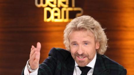 Thomas Gottschalk stieg 1987 bei «Wetten, dass..?» ein.