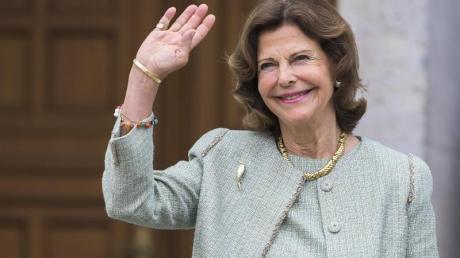 Königin Silvia von Schweden 2019 bei einem Besuch in Heidelberg.