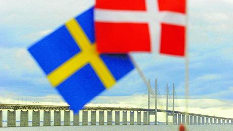 Ein Blick auf die Öresundbrücke: Die Verbindung zwischen Dänemark und Schweden.