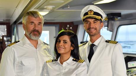 Die Traumschiff-Crew sticht wieder in See.