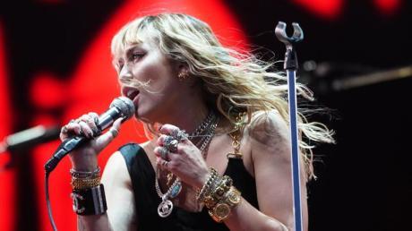 US-Sängerin Miley Cyrus wil wieder live auftreten.