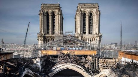 Der schwierige Abbau eines beim Brand verformten Gerüsts ist Ende 2020 gelungen. Nun geht es an die eigentliche Rekonstruktion der Kathedrale Notre-Dame.
