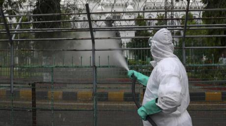 Indien ist weltweit das Land mit den zweitmeisten Corona-Infizierten.