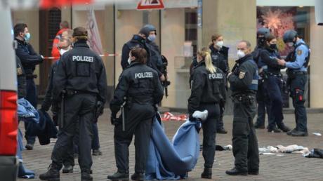 Der Tatort, eine Fußgängerzone in Trier:Die Menschen, die den Angriff überlebten, erlitten erhebliche Verletzungen unterschiedlicher Schwere.