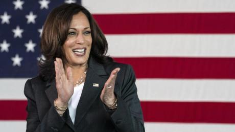 Kamala Harris, Vizepräsidentin der USA, soll schon bald als Wachsfigur im Kabinett von Madame Tussauds zu sehen sein.