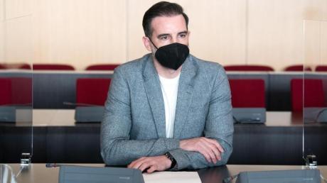 Christoph Metzelder im Amtsgericht Düseldorf. Das Urteil gegen den ehemaligen Nationalspieler ist rechtskräftig.