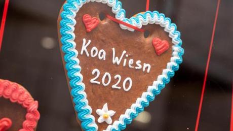 Die Herzerl-Hersteller müssen ihre Pandemie-Edition neu auflegen - auch 2021 wird es keine Wiesn in München geben.