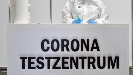 Das Corona-Testzentrum in Hirblingen hat auch an Christi Himmelfahrt geöffnet.