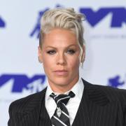 Pink, Sängerin aus den USA, kommt zur Verleihung der MTV Video Music Awards. (Archivbild).