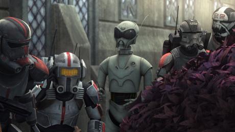 """Disney bestätigt: Es wird eine zweite Staffel von """"Star Wars: The Bad Batch"""" geben."""