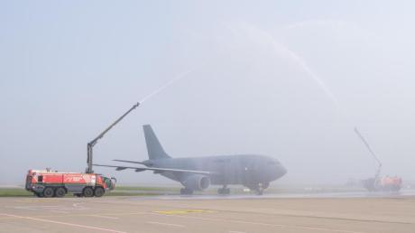 Letzte Landung für den Airbus A310 in Hannover. Er soll jetzt zum Restaurant umgebaut werden.