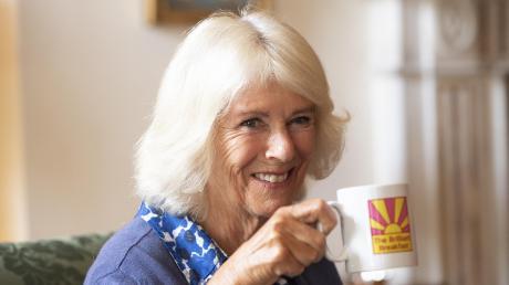 Camilla, Herzogin von Cornwall, kürzlich während eines Empfangs.