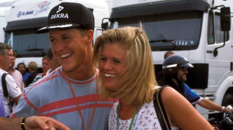 Michael Schumacher mit seiner Ehefrau Corinna