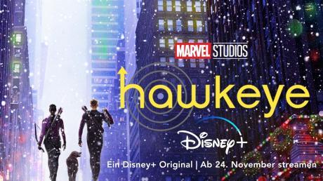 """Ende November startet die neue Serie """"Hawkeye"""" bei Disney+. Holen Sie sich hier alle Infos."""