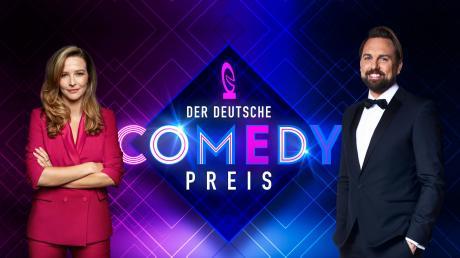 """Anfang Oktober werden Komiker beim """"Deutschen Comedypreis"""" 2021 ausgezeichnet. Wir haben alle Infos zur Sendung."""