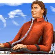 Das heutige Google Doodle zeigt den Schauspieler Christopher Reeve.