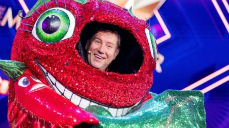 Jens Riewa als «Die Chili» in der Prosieben-Show «The Masked Singer».