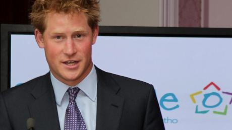 Prinz Harry will in Berlin seine Hilfsorganisation «Sentebale» vorstellen.