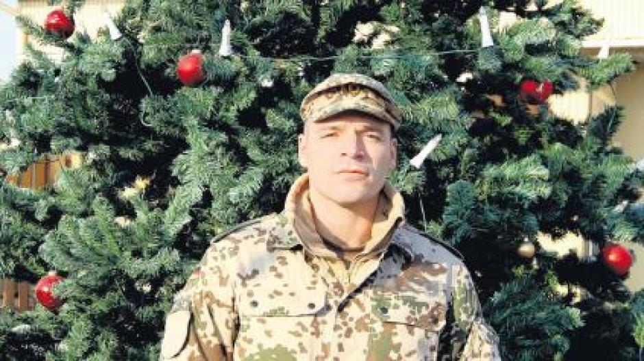 Elchinger Soldat in Afghanistan: Weihnachten im Kriegsgebiet ...
