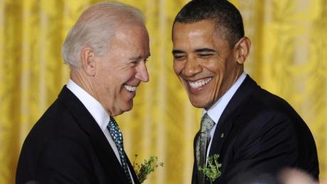 Auch von Barack Obama kamen Glückwünsche an Joe Biden.