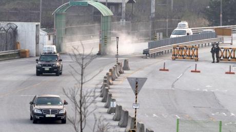 Die Stadt Kaesong liegt an der Grenze von Süd- und Nordkorea.