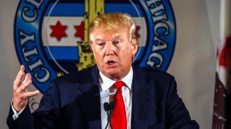 Gehört zu den zehn Kandidaten für die erste TV-Debatte der Republikaner im US-Vorwahlkampf: Unternehmer Donald Trump.