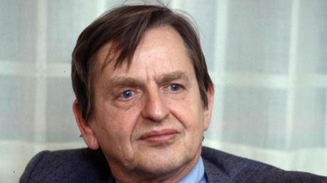 Der schwedische Ministerpräsident Olof Palme im Jahr 1984. Zwei Jahre später wurde er nach einem Kinobesuch erschossen.